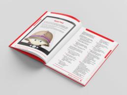 Big Reading Mini Missions book open spread Read Pad
