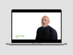 Video Design of Ben Harding discussing Big Maths