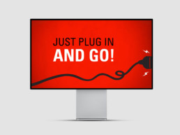 Plug in and go video on Pro Display XDR monitor